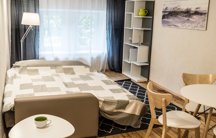 New 2-room apartment in Art Nouveau district